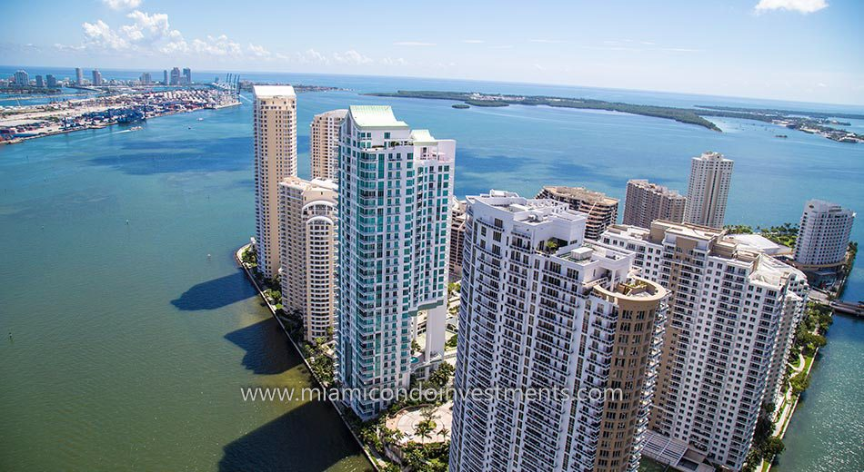 water views from Asia Brickell Key