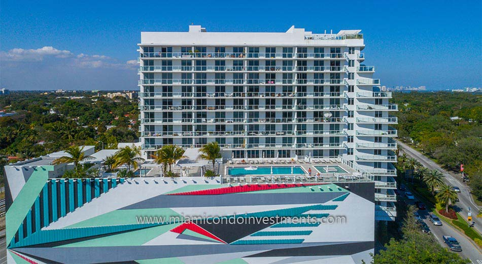 Baltus House condos in Miami Design District
