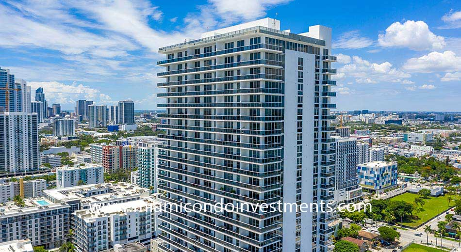 Bay House condos in Edgewater Miami