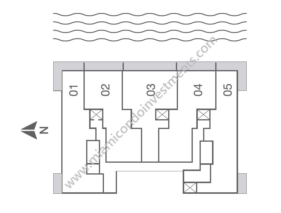Bay House Site Plan