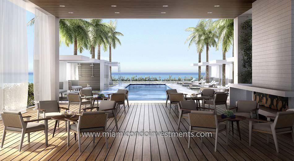 Beach House 8 pool deck