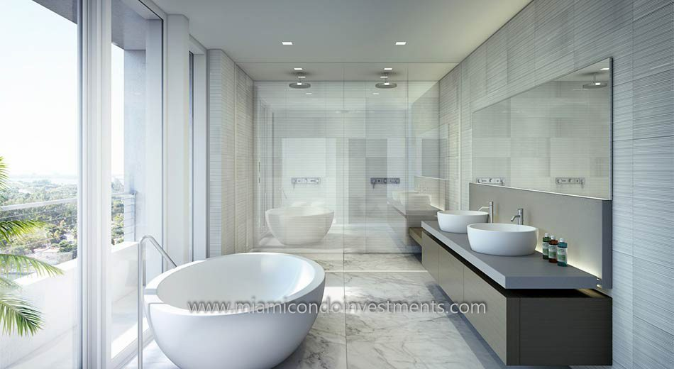 Beach House 8 master bath