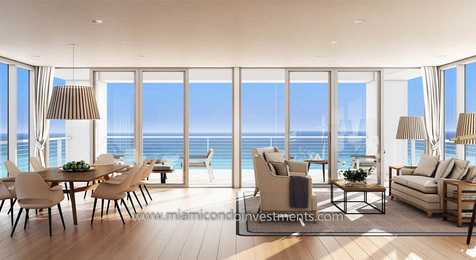 view from a condo at Beach House 8 in Miami Beach