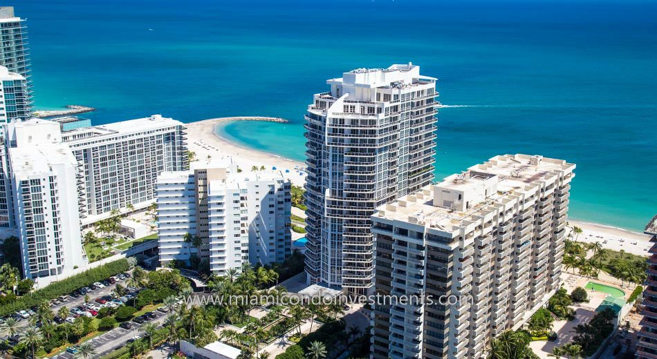 ocean views from Bellini Bal Harbour