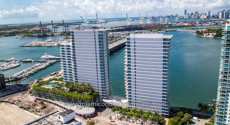 Bentley Bay condos in South Beach