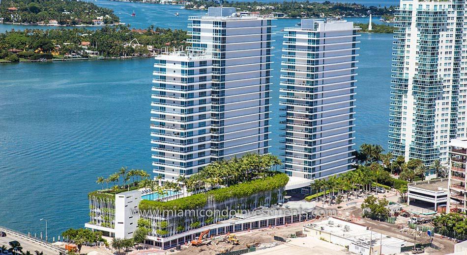 Bentley Bay south tower condos in South Beach
