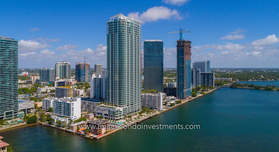 Biscayne Beach condos in Edgewater Miami