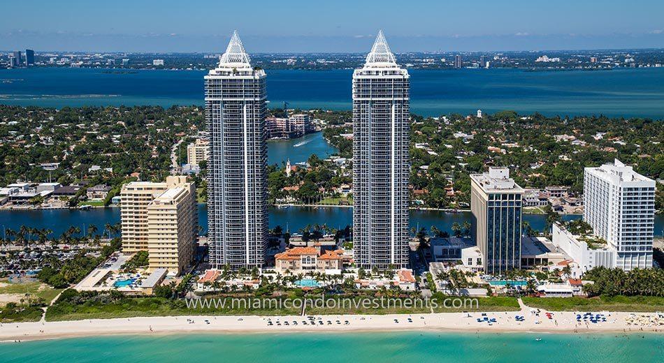 Blue And Green Diamond Condos Miami Beach