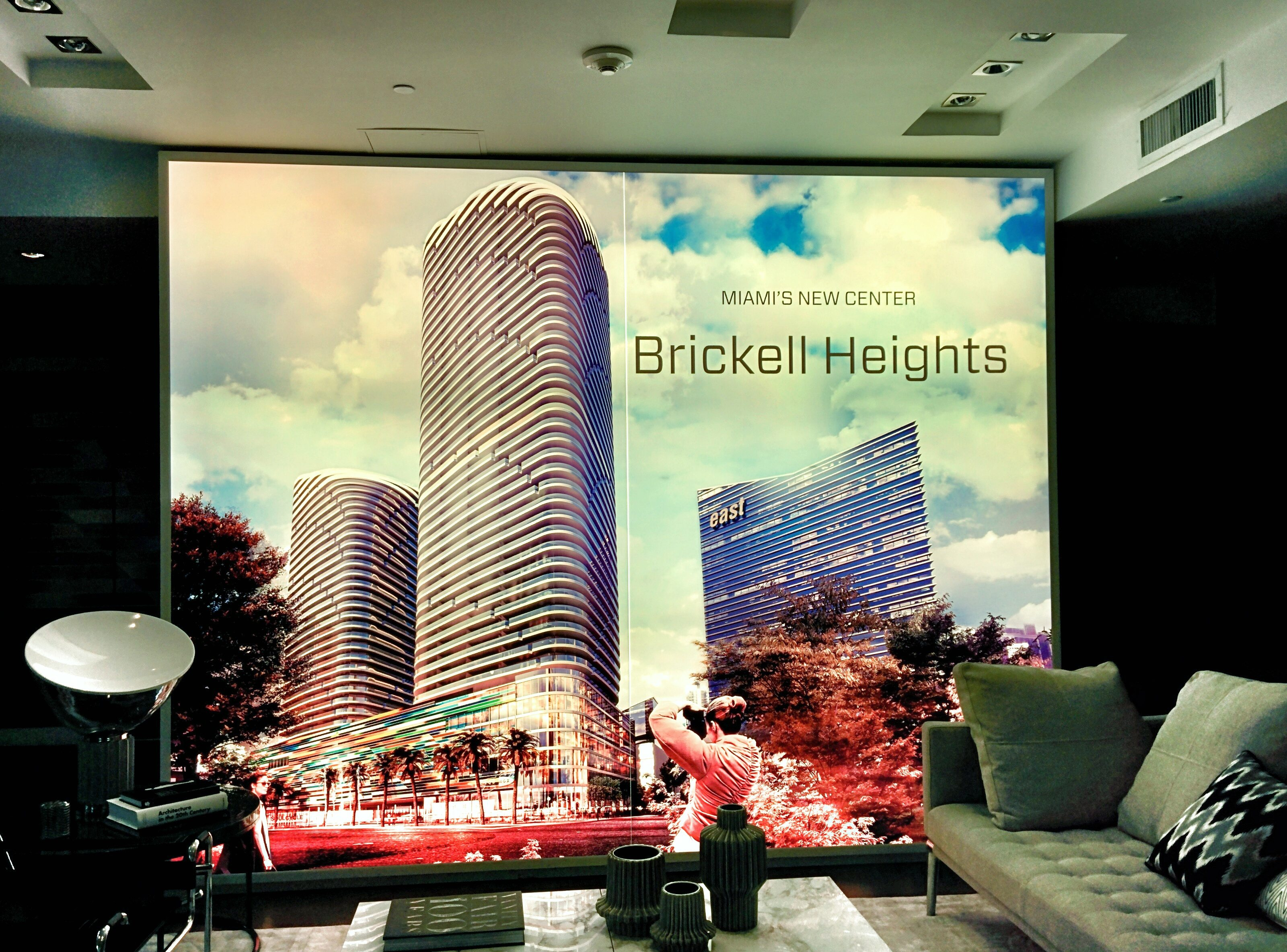 Brickell Heights sales center
