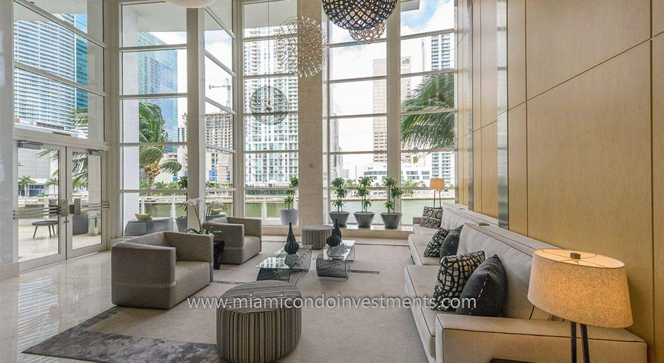 Carbonell condos lobby