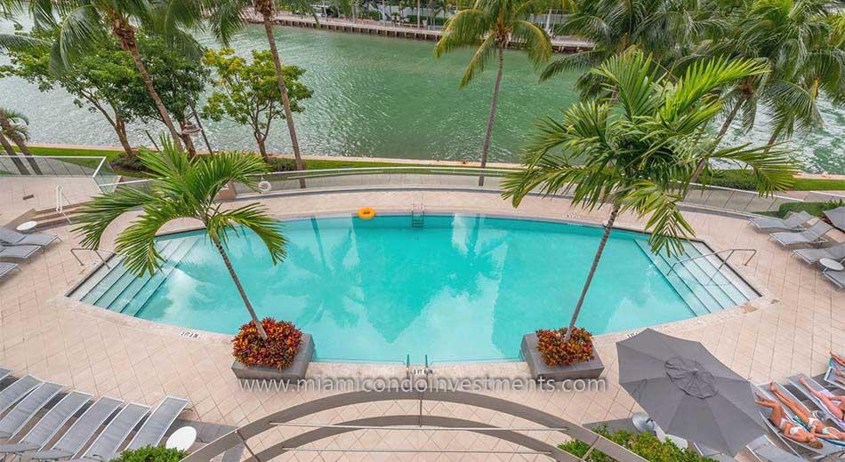 Carbonell condos pool