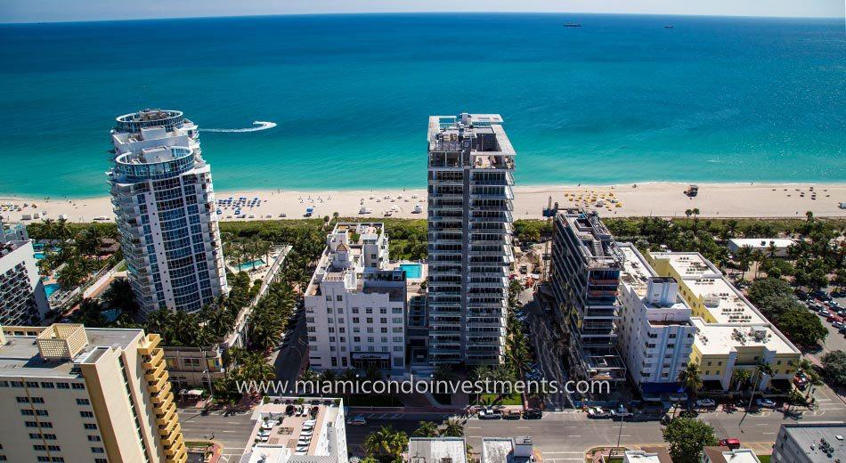 ocean views from Caribbean Miami Beach