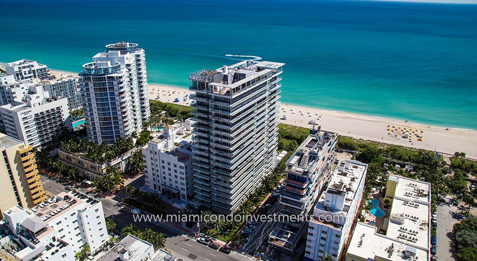 views from Caribbean Miami Beach condos
