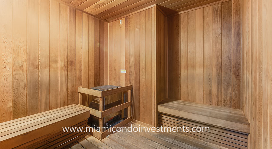 co-ed sauna at Centro