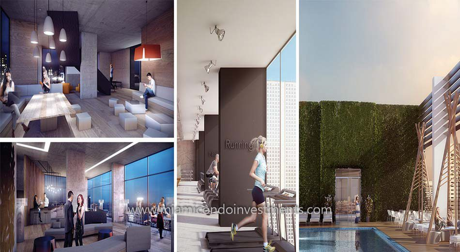 amenities at Centro Miami