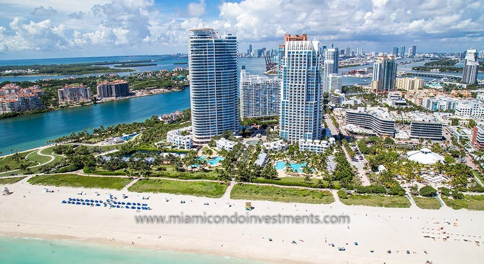 oceanfront condos at Continuum South Beach North Tower