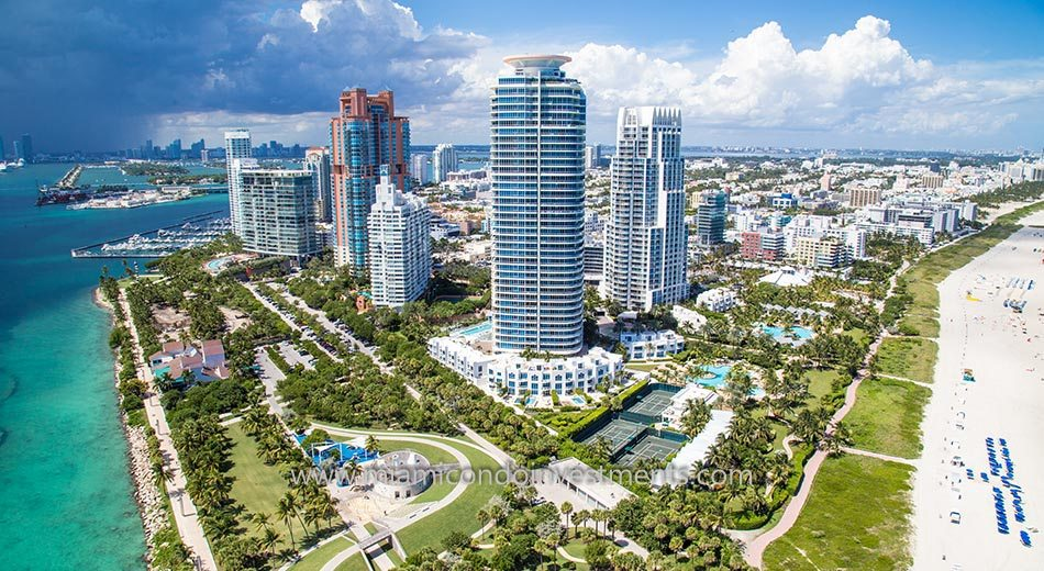 Continuum South Beach North Tower in South of Fifth