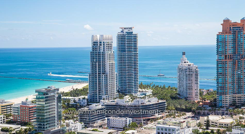 views from Continuum South Beach North Tower