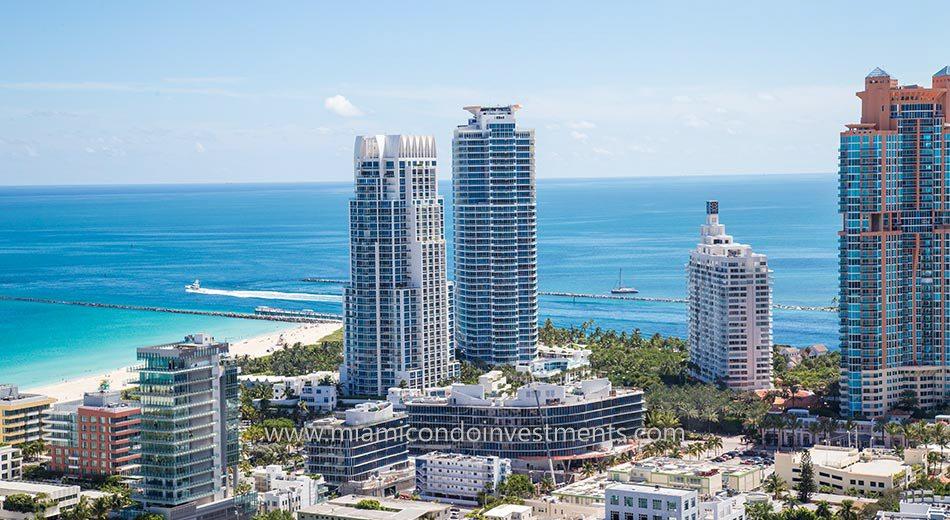 Continuum South Beach condos south tower