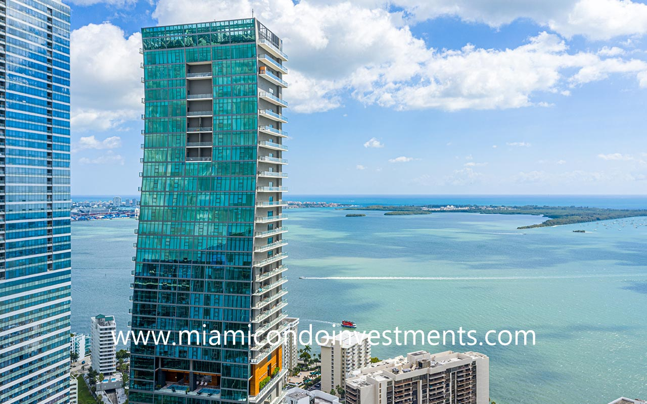 water views from Echo Brickell