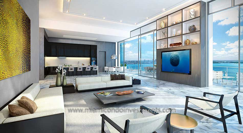 Echo Brickell luxury condo in Miami