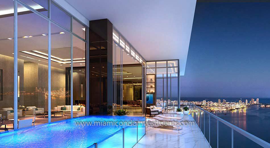 Echo Brickell penthouse
