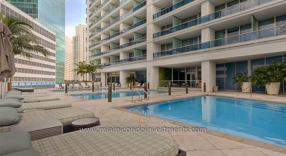 Epic miami condos pool 2