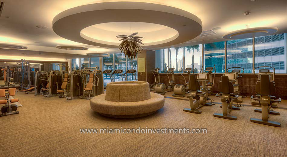 Epic miami condos gym