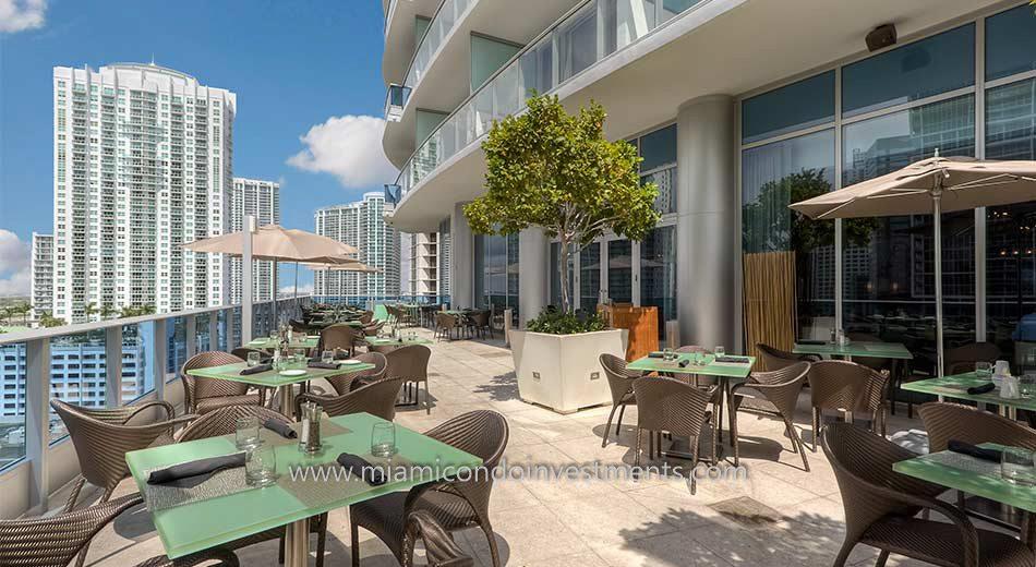 Epic Miami condo terrace