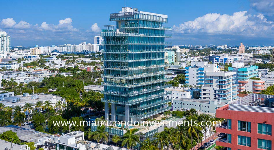 Glass Miami Beach condominium
