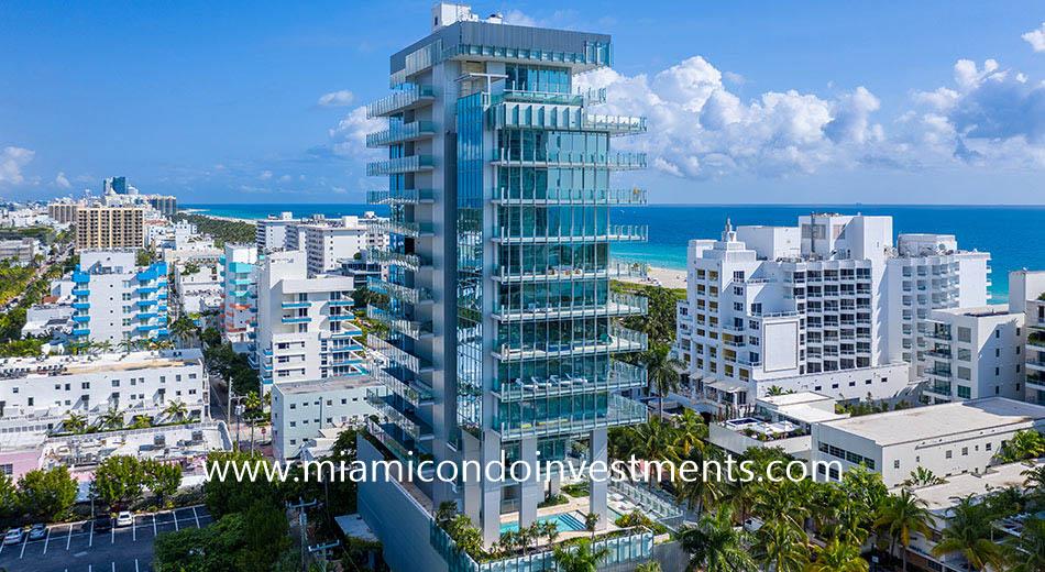 Glass Miami Beach designed by Rene Gonzalez