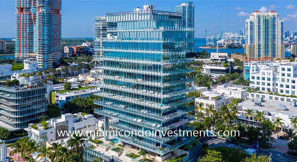 Glass South Beach condos