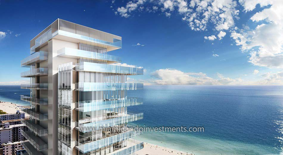 Glass miami beach condos