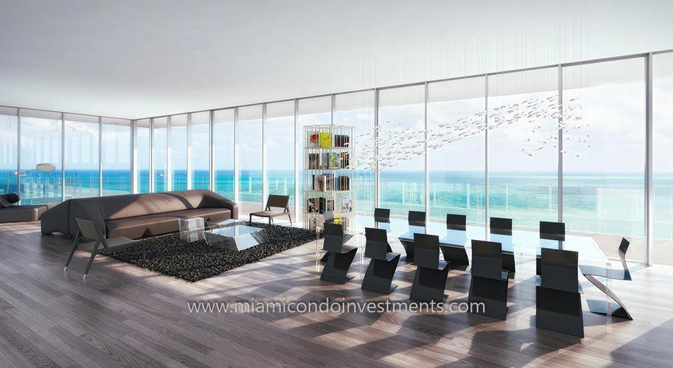 Glass condos south beach