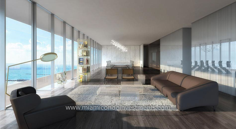 Glass ocean views miami beach condos