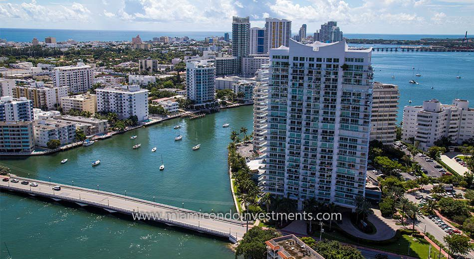 waterfront miami beach condos