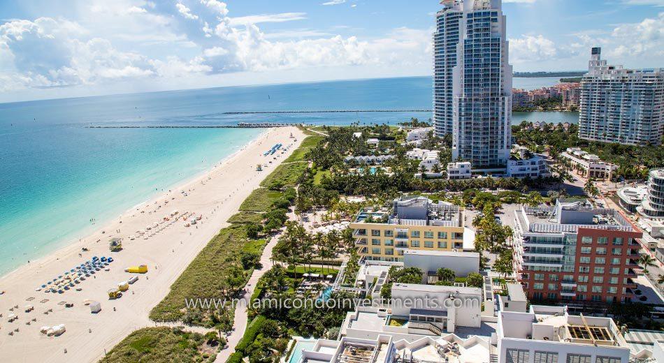 Hilton Bentley Miami Beach beachfront condos
