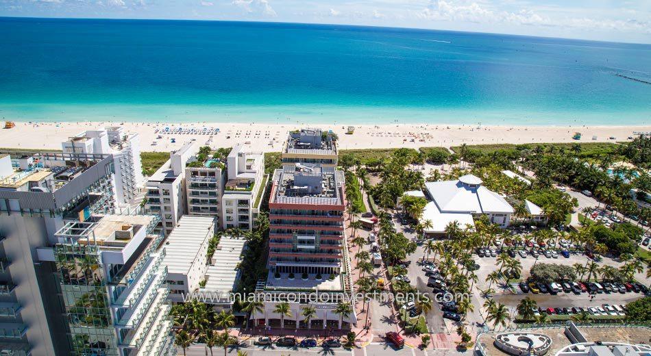 Hilton Bentley Miami Beach condos south beach