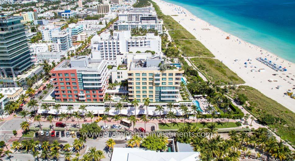 Hilton Bentley Miami Beach condos oceanfront