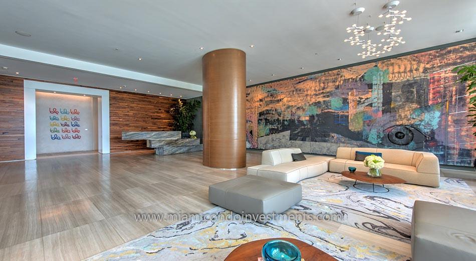 Icon Bay lobby