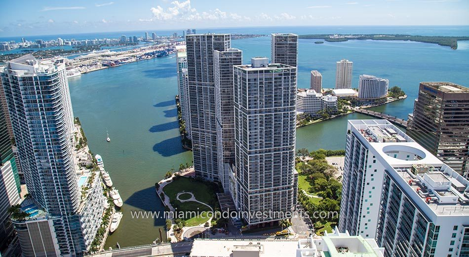 Icon Brickell Tower I condo exterior