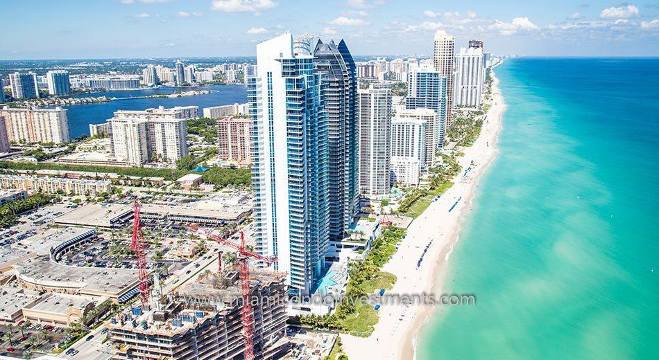Jade Beach miami condos waterfront