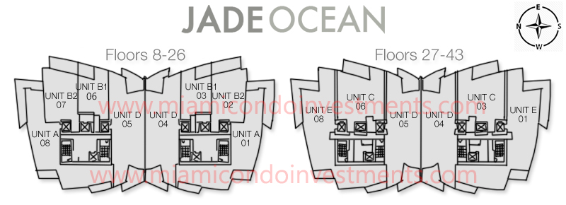 Jade Ocean site plan