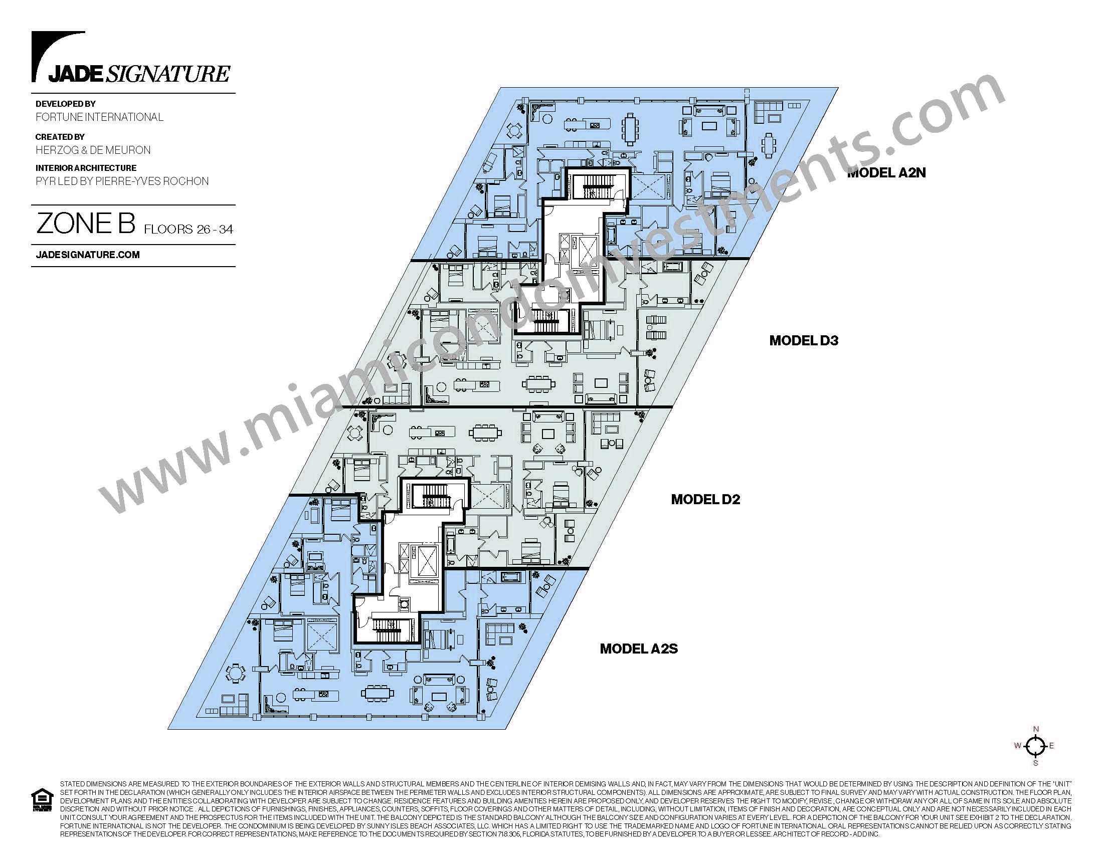 Jade Signature Zone B Site Plan