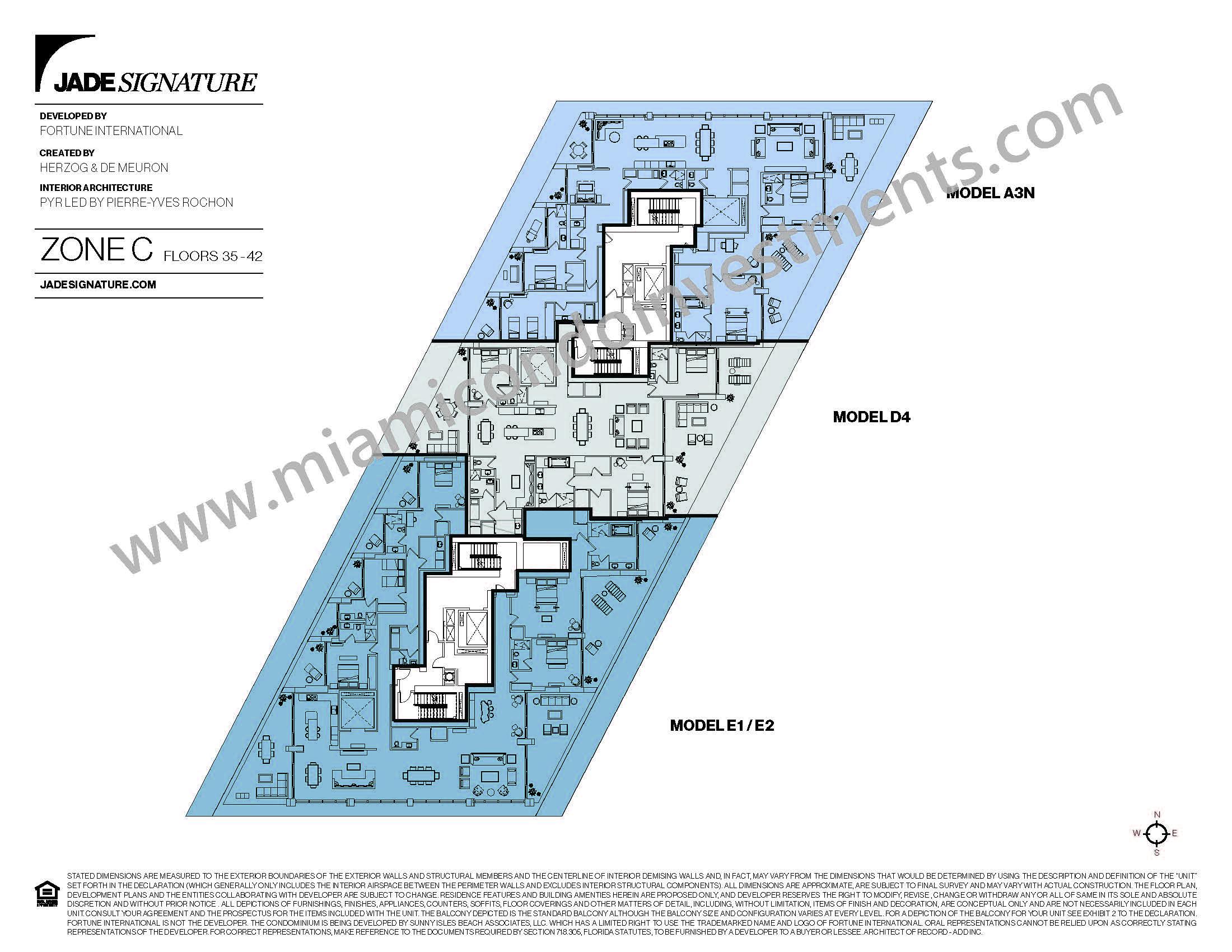 Jade Signature Zone C Site Plan