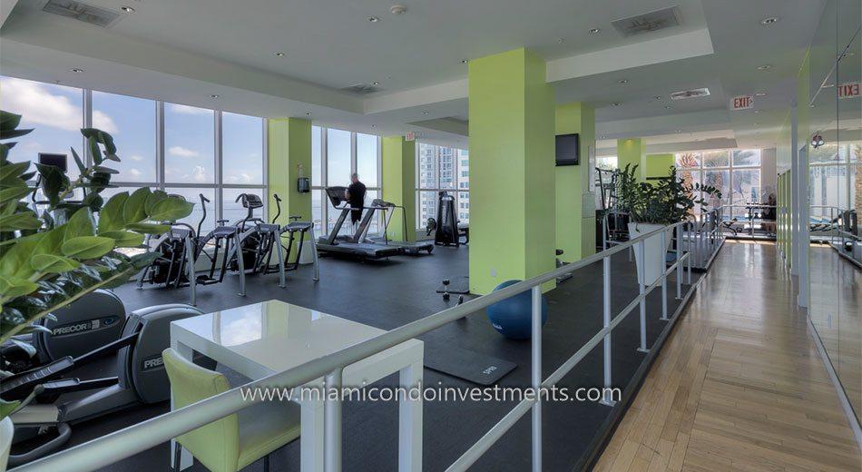 The Loft 2 condo gym