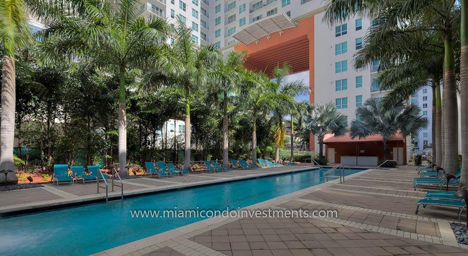The Loft 2 downtown miami pool