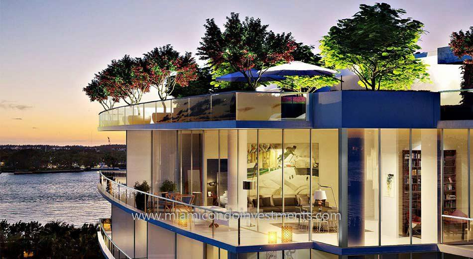 Marea miami beach condos balcony
