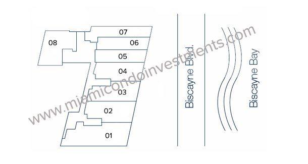 Floorplans 1 - Floors 23-48