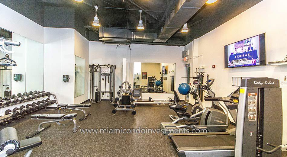 south beach condos gym